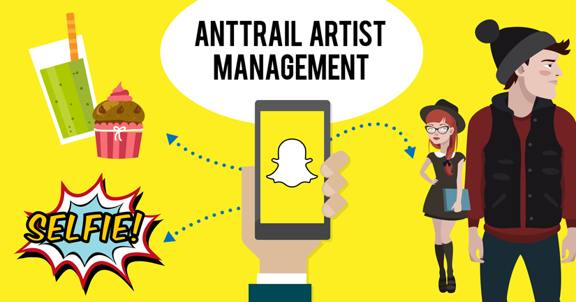 Launch Day: AntTrail Artist Management für Snapchat Influencer